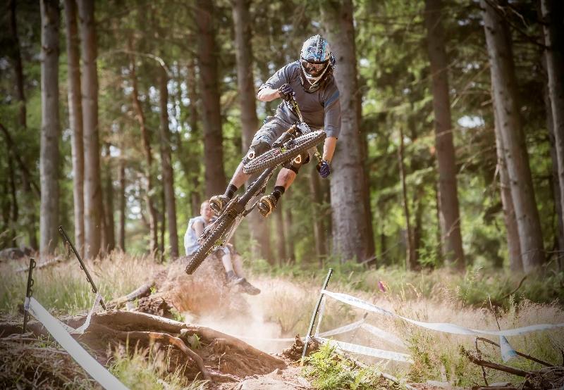 Ben Cathro mountain biking